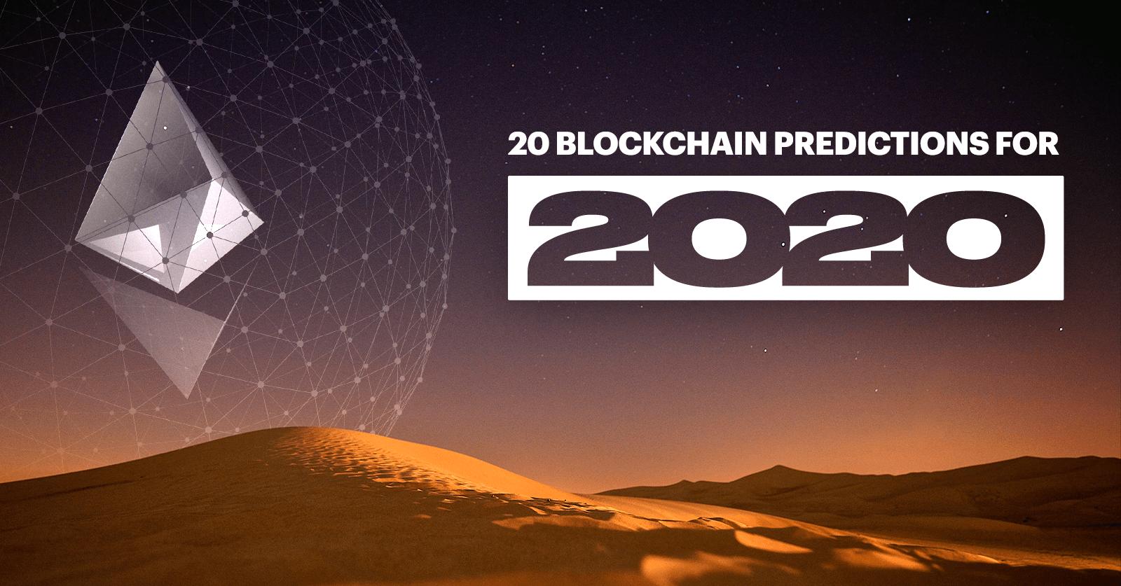 2020 blockchain predictions featured no logo