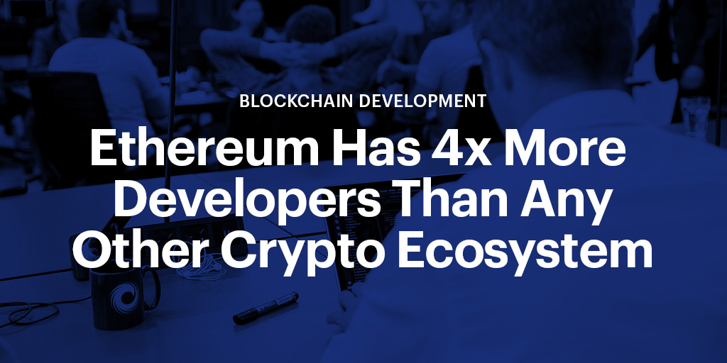 ConsenSys Signal ethereum has 4x more developers than any other crypto ecosystem social
