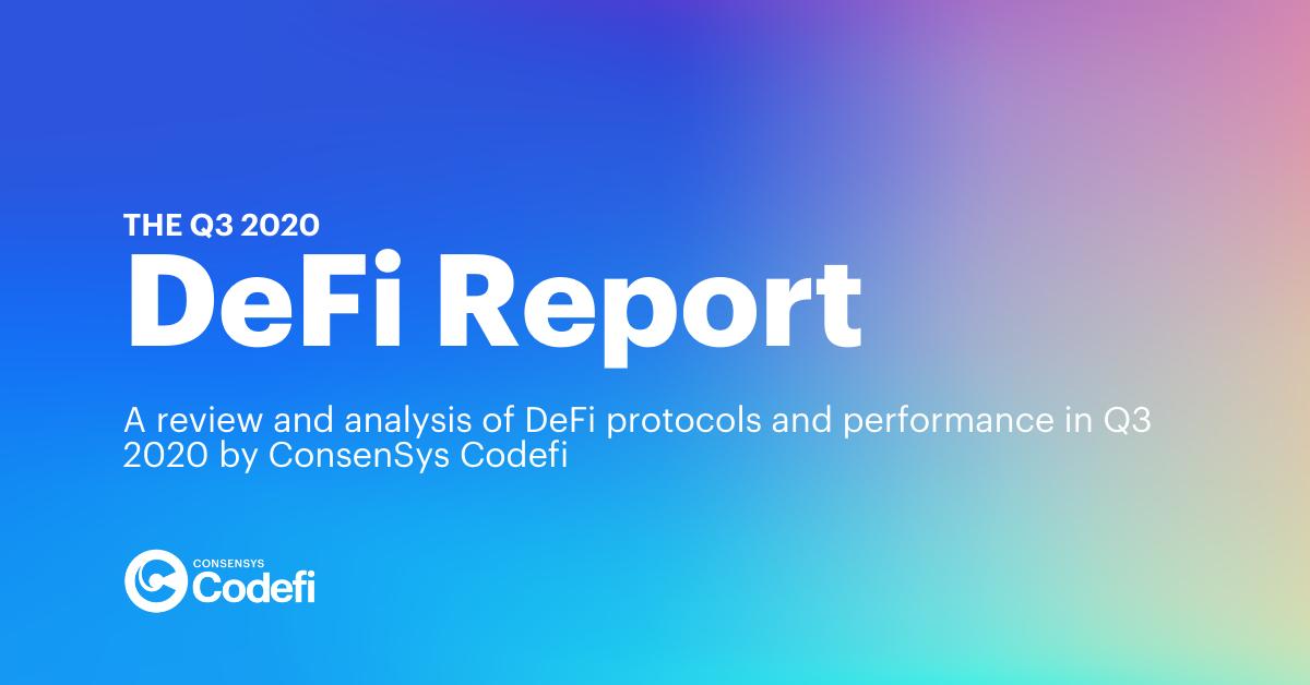 The Q3 2020 DeFi Report