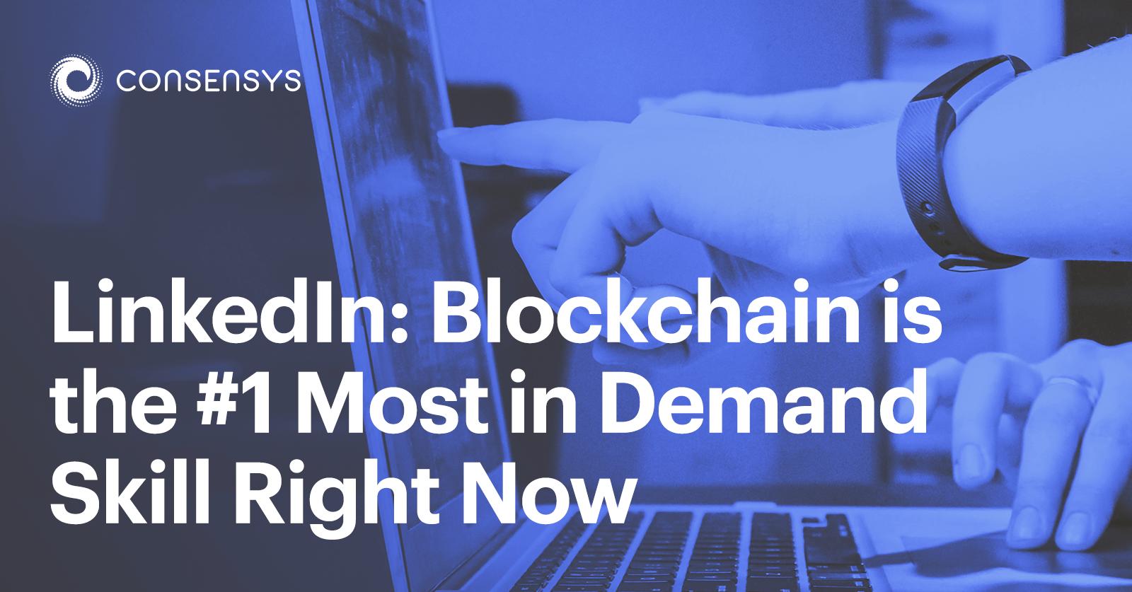 linkedin blockchain skill featured
