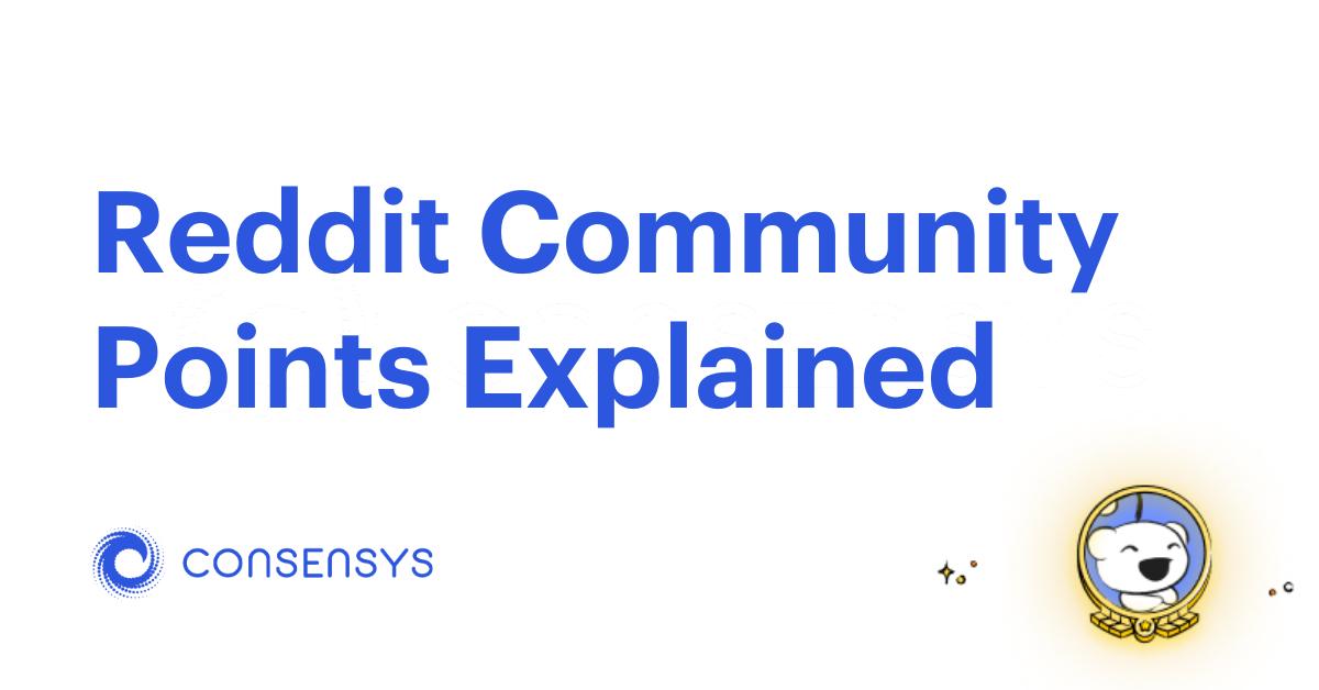 reddit community points featured