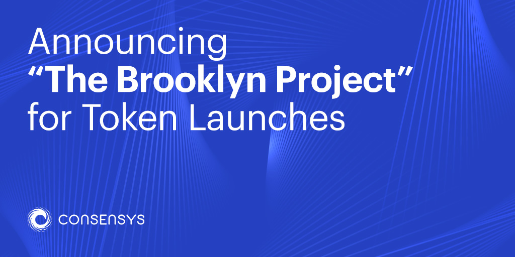 Announcing    The Brooklyn Project    for Token Launches